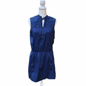 G-Star RAW Blue Sleeveless Dress M